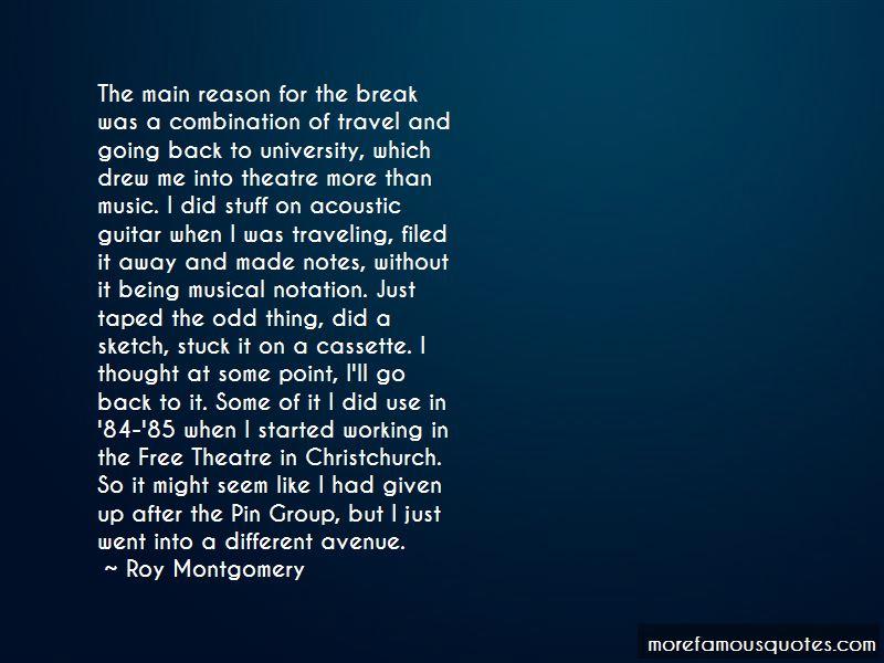 Roy Montgomery Quotes Pictures 2