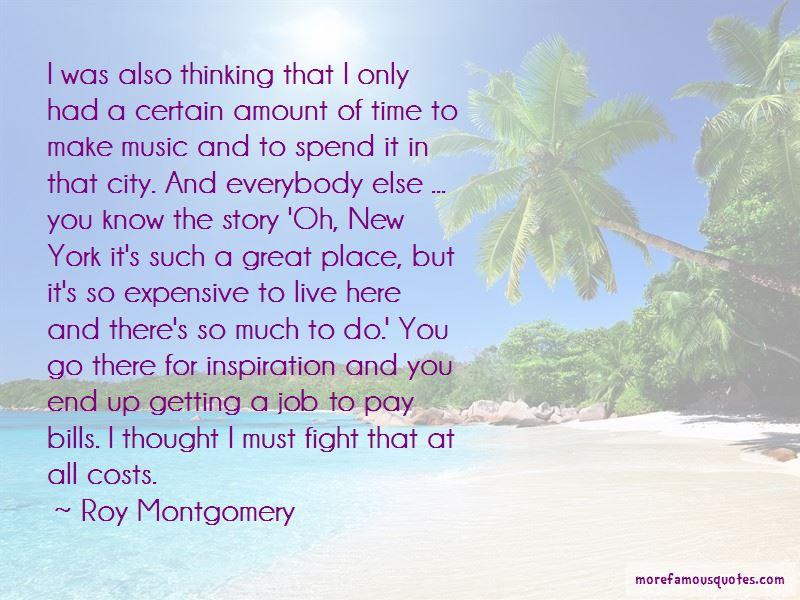 Roy Montgomery Quotes Pictures 3