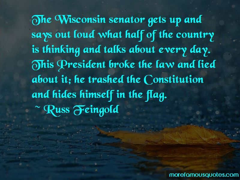 Russ Feingold Quotes Pictures 3