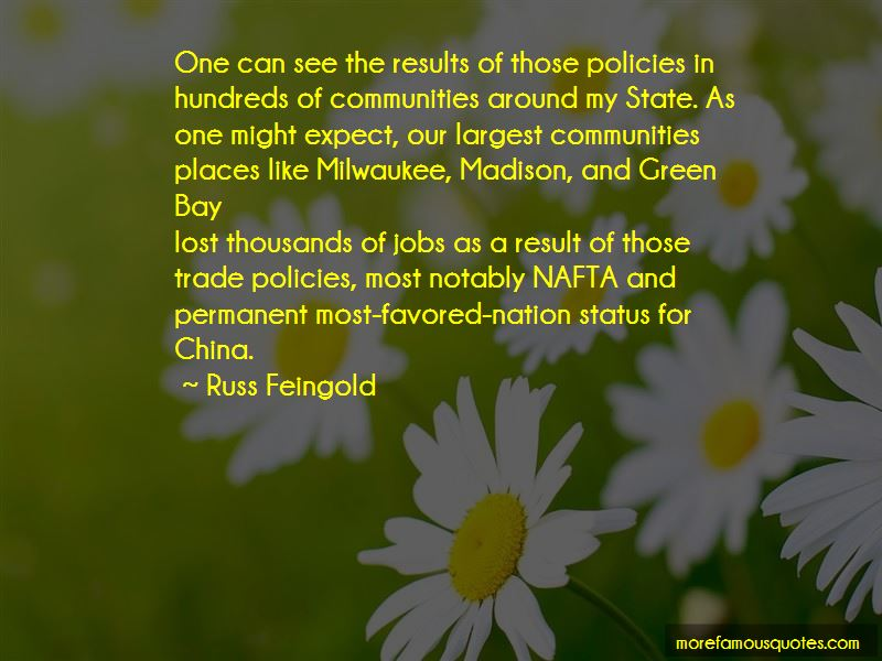 Russ Feingold Quotes