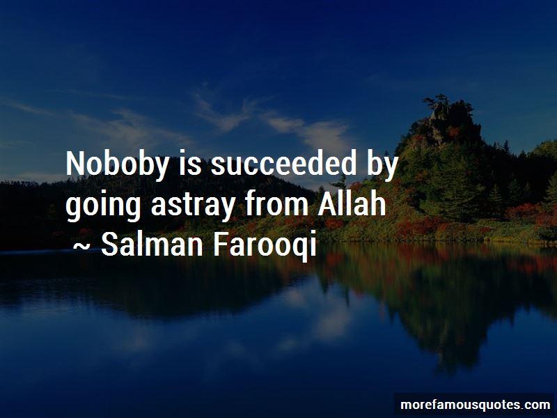 Salman Farooqi Quotes