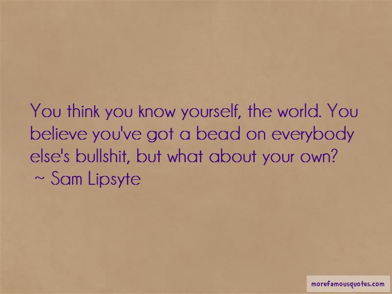 Sam Lipsyte Quotes Pictures 2
