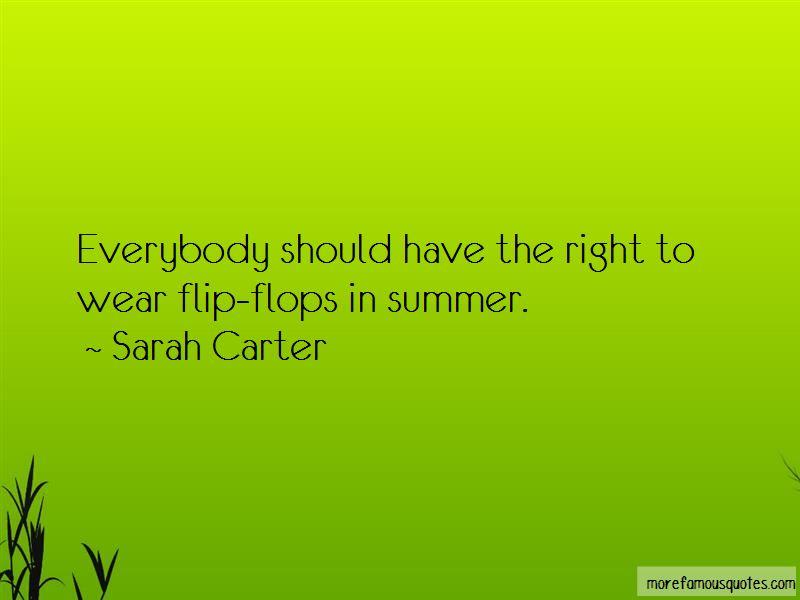 Sarah Carter Quotes Pictures 2