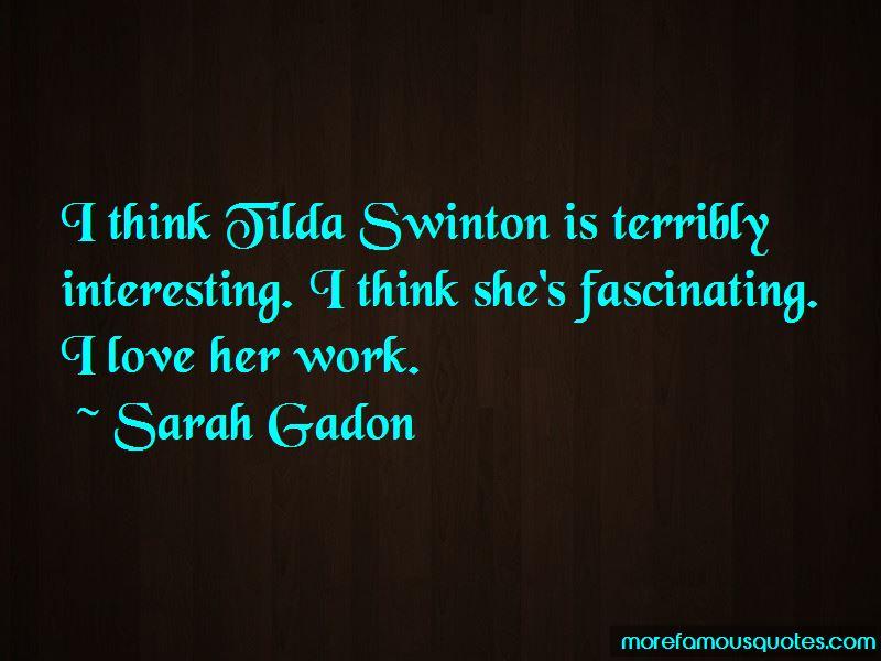Sarah Gadon Quotes Pictures 4