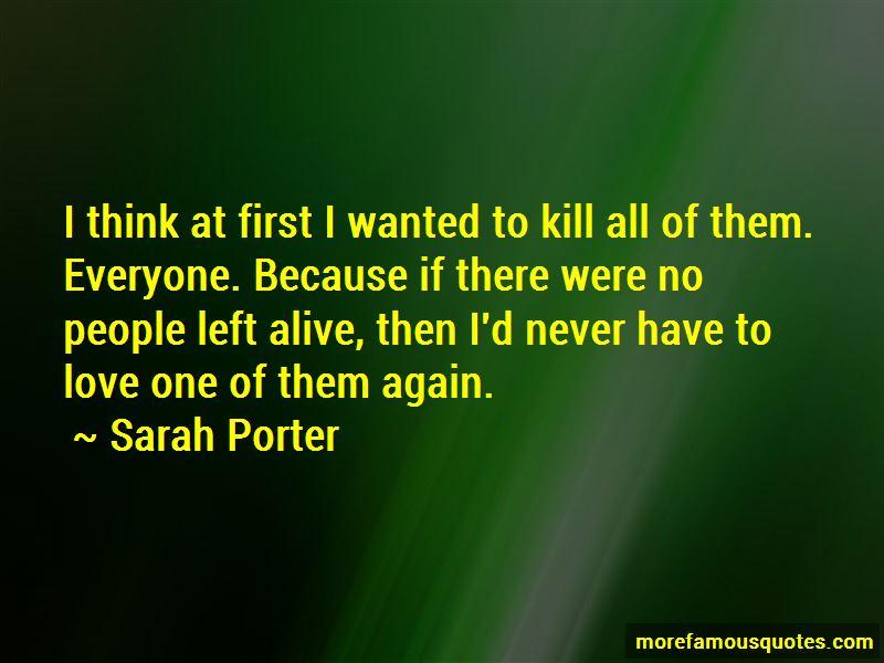 Sarah Porter Quotes Pictures 2