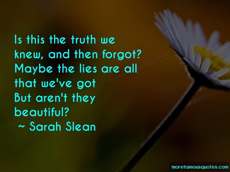 Sarah Slean Quotes