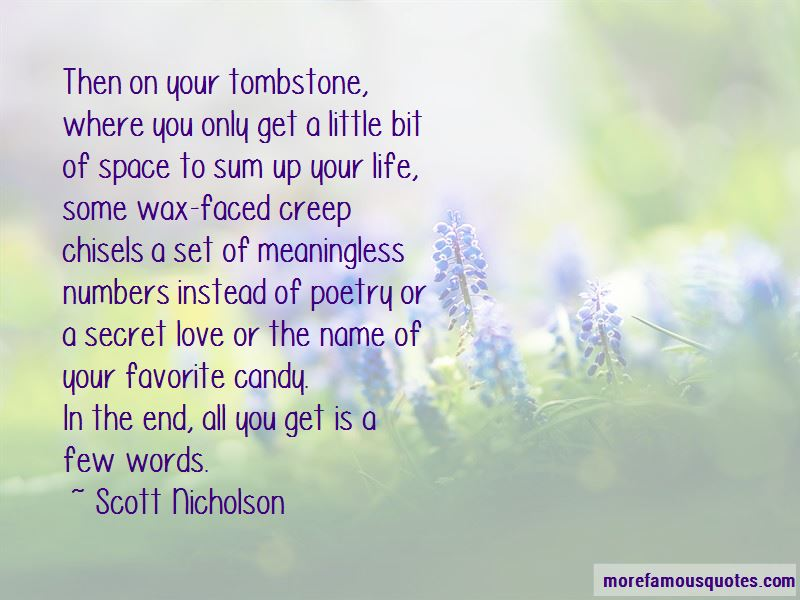 Scott Nicholson Quotes Pictures 2
