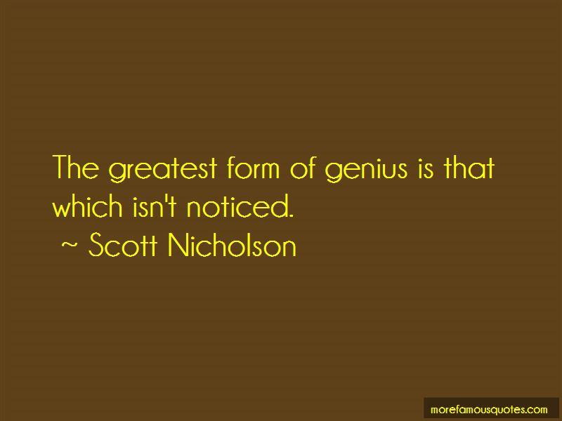 Scott Nicholson Quotes Pictures 4