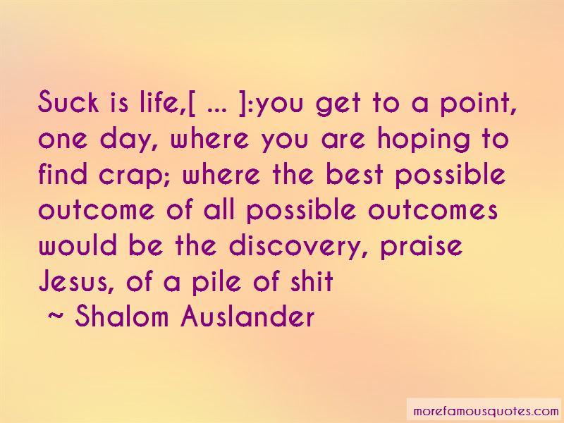 Shalom Auslander Quotes Pictures 3