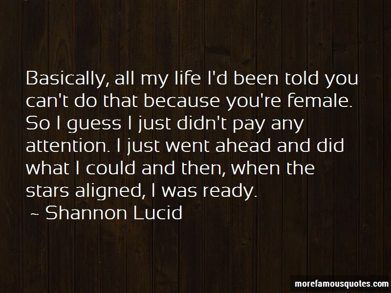 Shannon Lucid Quotes Pictures 4