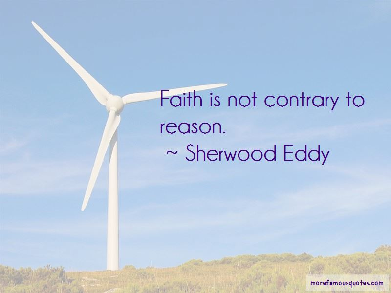 Sherwood Eddy Quotes Pictures 2