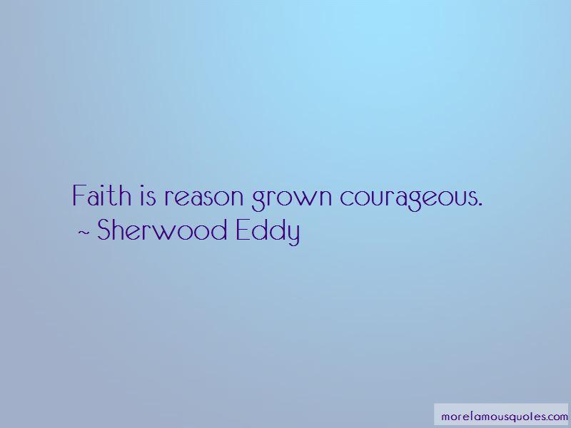 Sherwood Eddy Quotes