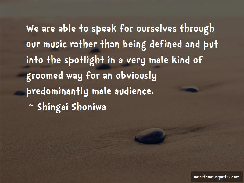 Shingai Shoniwa Quotes Pictures 2