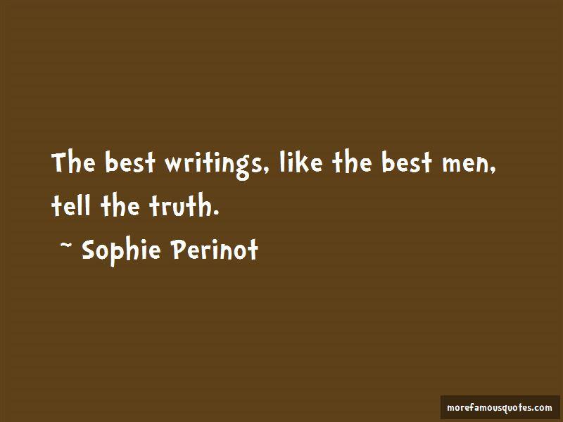 Sophie Perinot Quotes