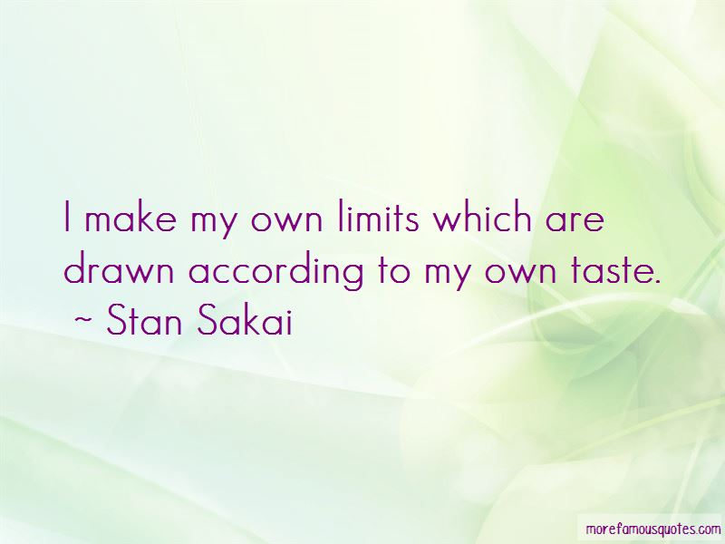 Stan Sakai Quotes Pictures 2