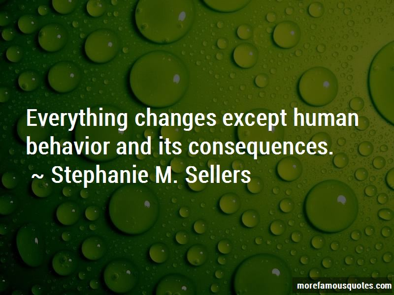 Stephanie M. Sellers Quotes