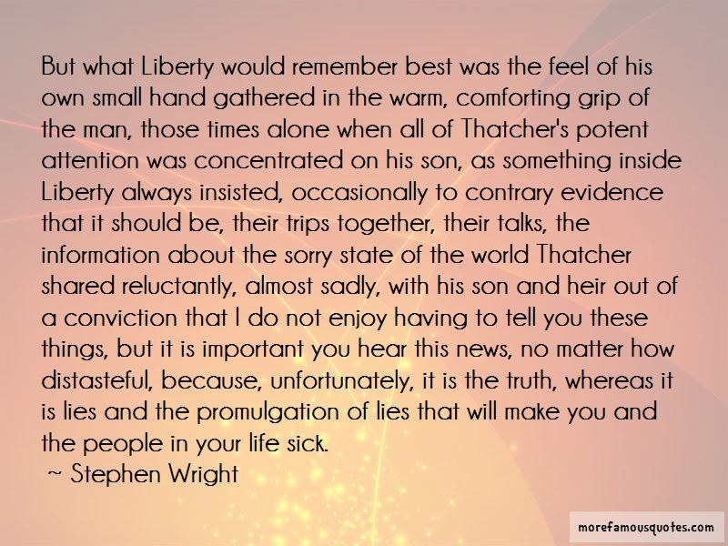 Stephen Wright Quotes