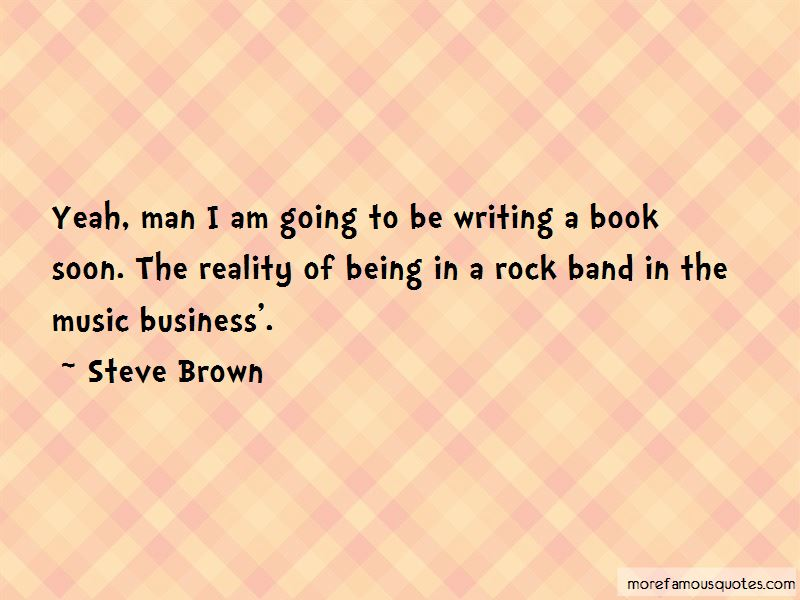 Steve Brown Quotes
