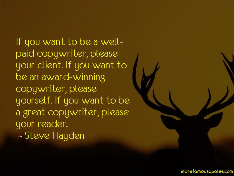 Steve Hayden Quotes Pictures 2