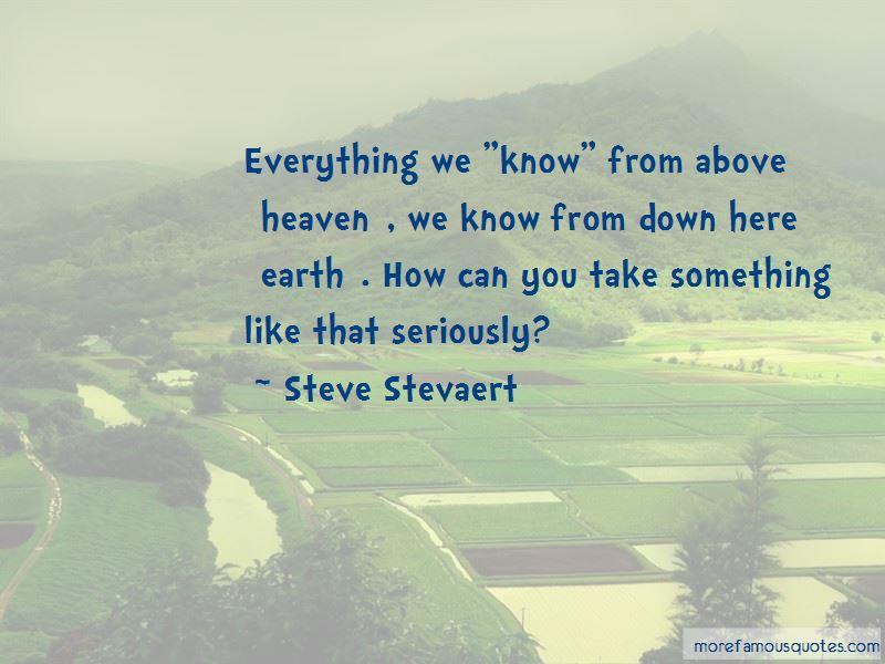 Steve Stevaert Quotes