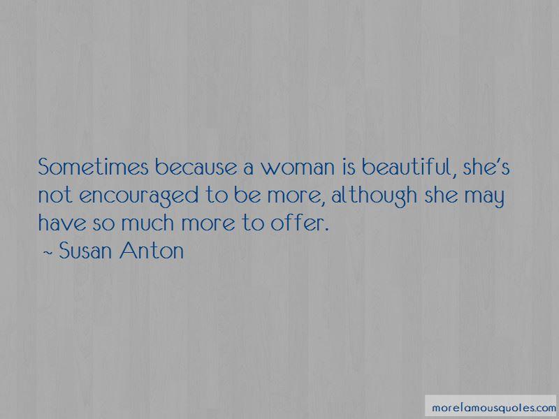 Susan Anton Quotes Pictures 3