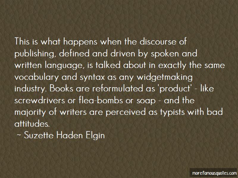 Suzette Haden Elgin Quotes Pictures 2