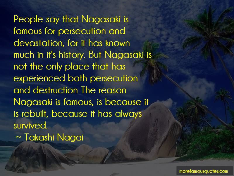 Takashi Nagai Quotes