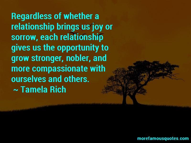 Tamela Rich Quotes