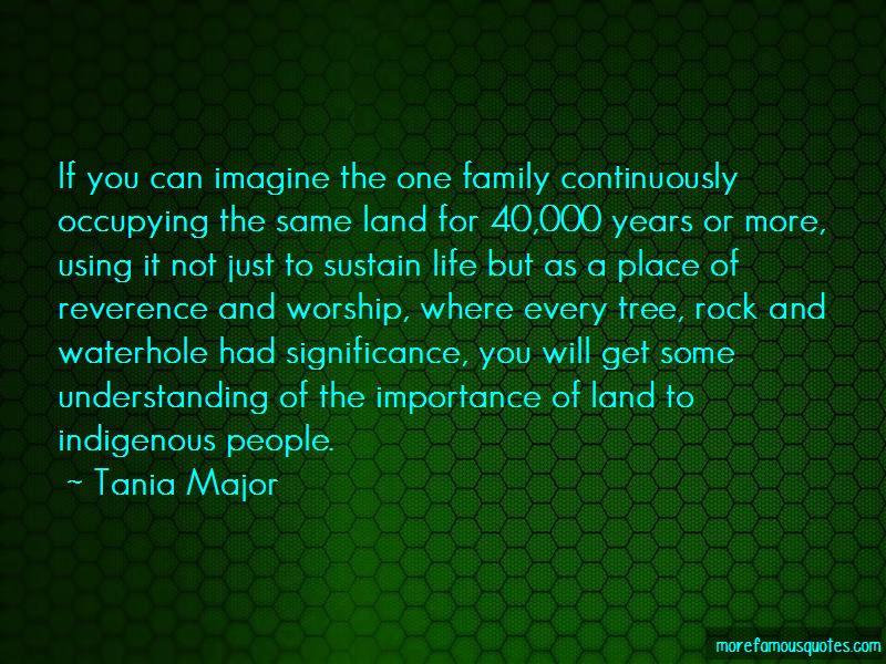Tania Major Quotes