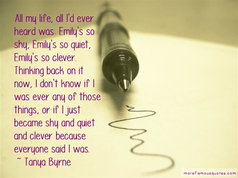 Tanya Byrne Quotes Pictures 4