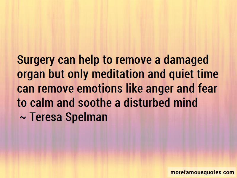 Teresa Spelman Quotes