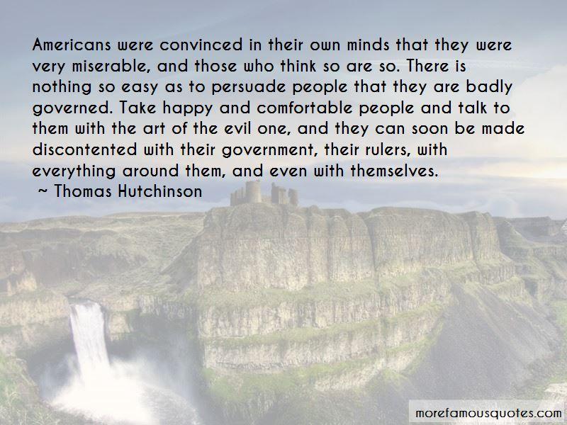 Thomas Hutchinson Quotes
