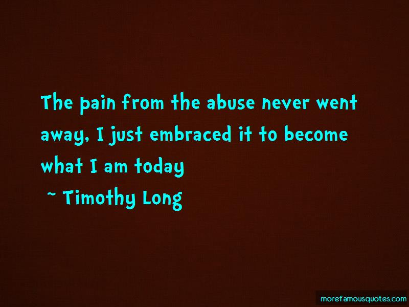 Timothy Long Quotes Pictures 2