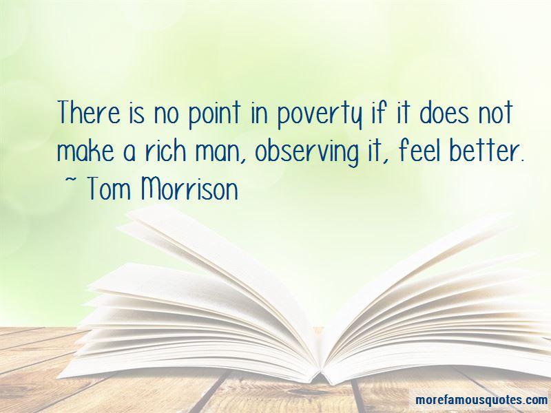Tom Morrison Quotes