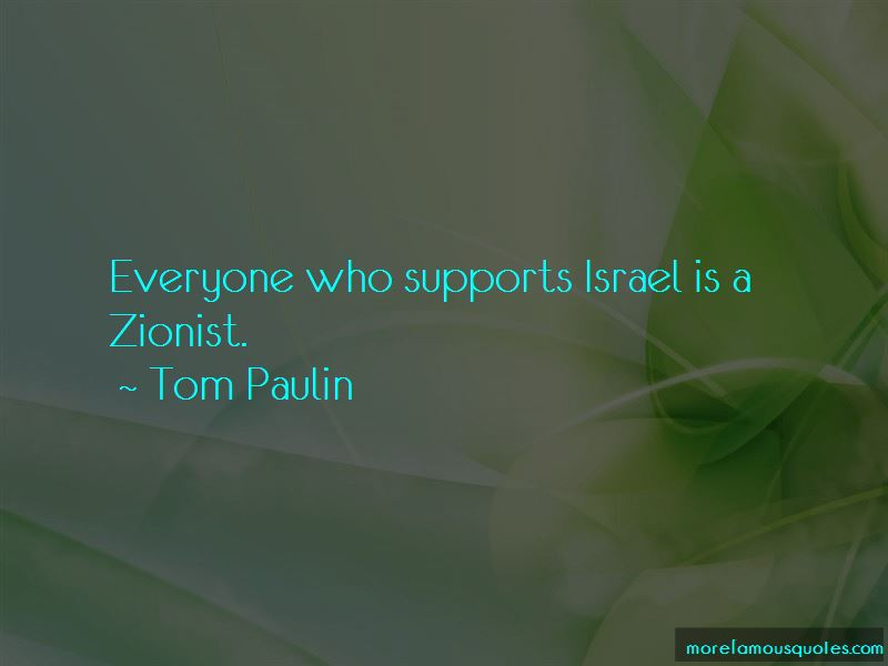 Tom Paulin Quotes Pictures 2