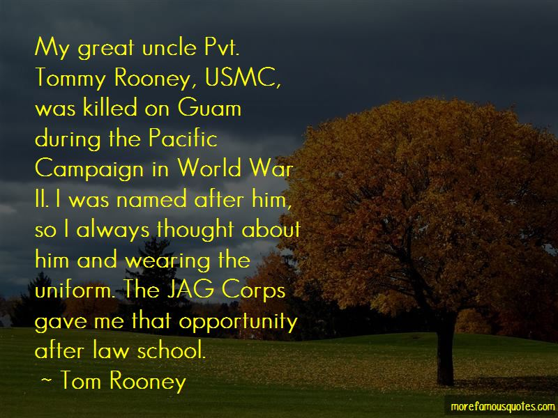 Tom Rooney Quotes Pictures 3