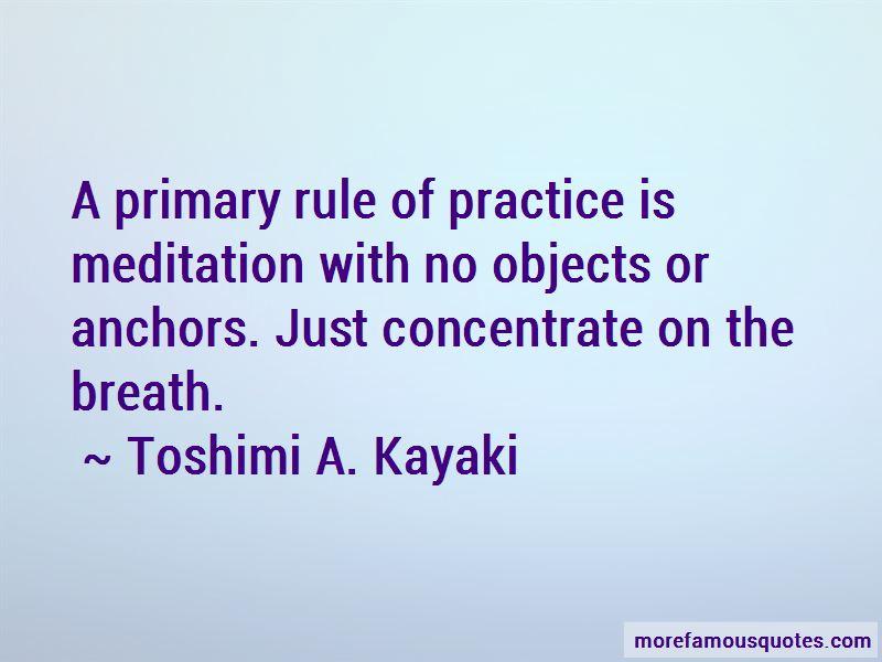 Toshimi A. Kayaki Quotes