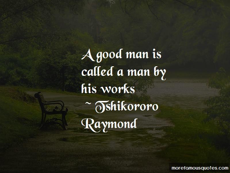 Tshikororo Raymond Quotes Pictures 2