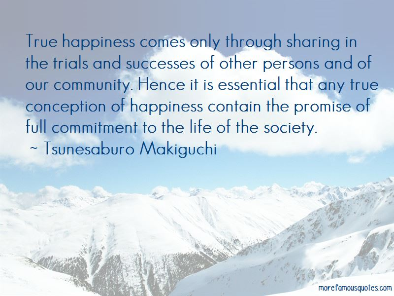 Tsunesaburo Makiguchi Quotes Pictures 2