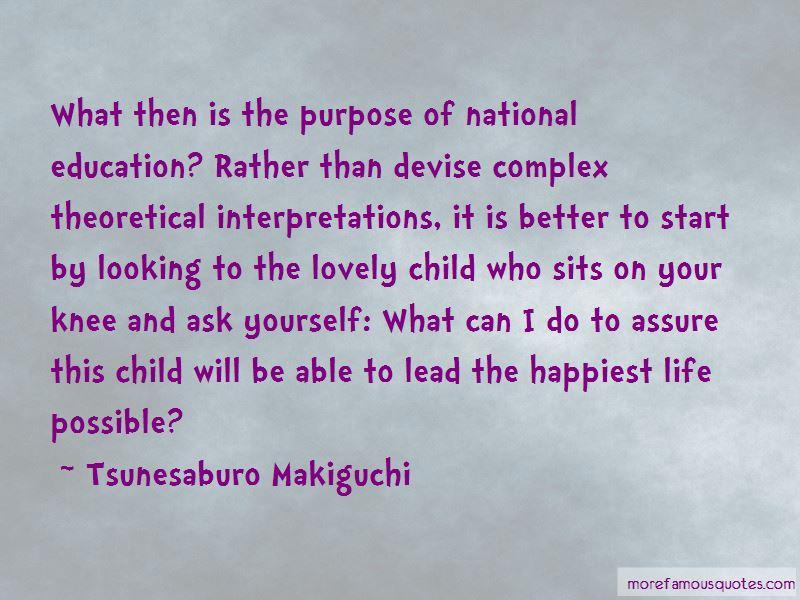 Tsunesaburo Makiguchi Quotes