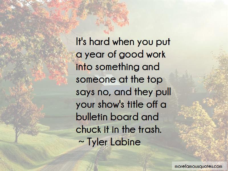 Tyler Labine Quotes