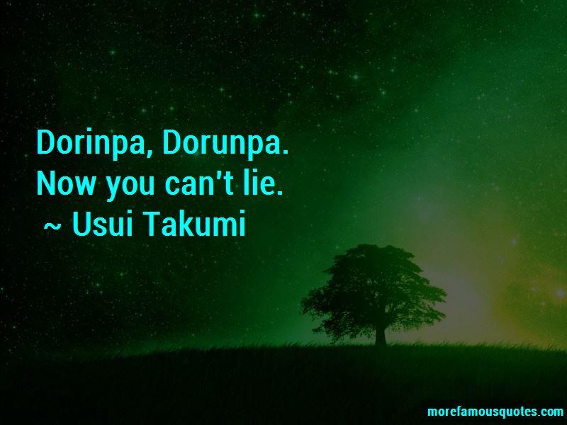 Usui Takumi Quotes Pictures 2