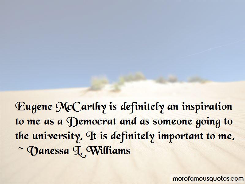 Vanessa L. Williams Quotes