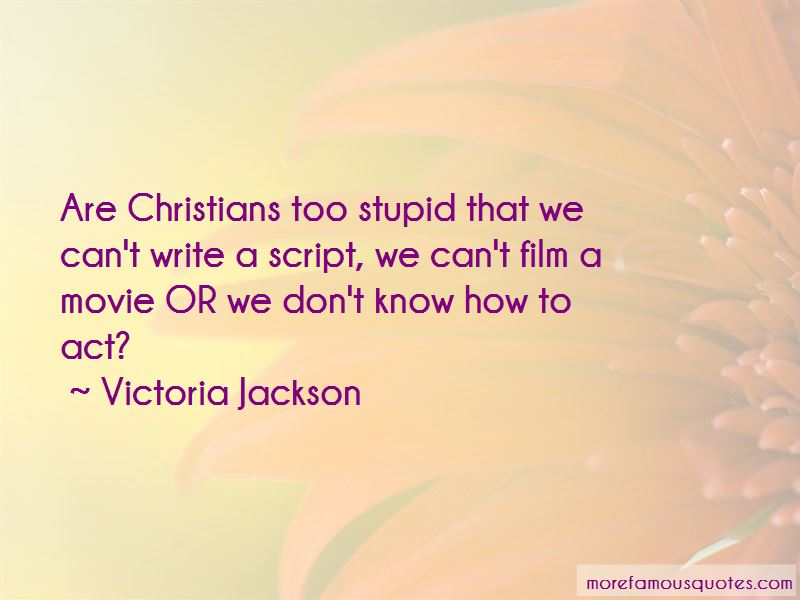 Victoria Jackson Quotes Pictures 3
