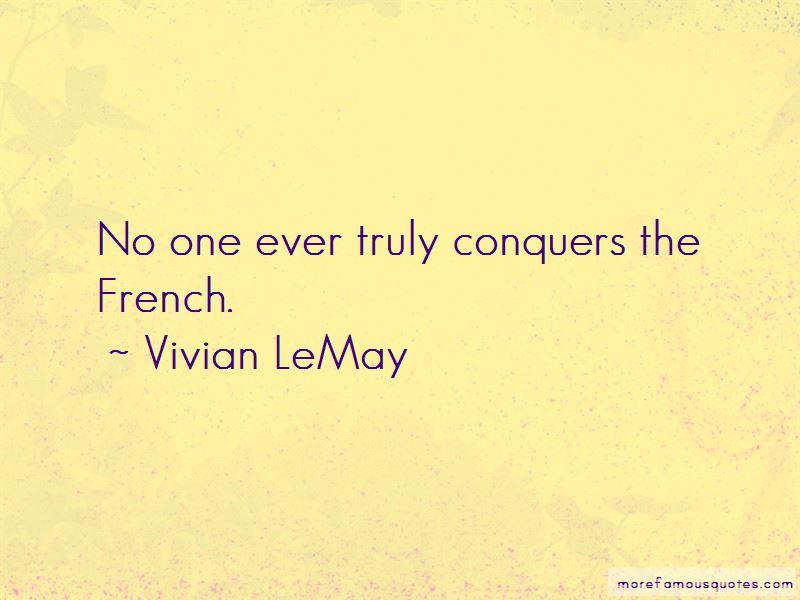 Vivian LeMay Quotes