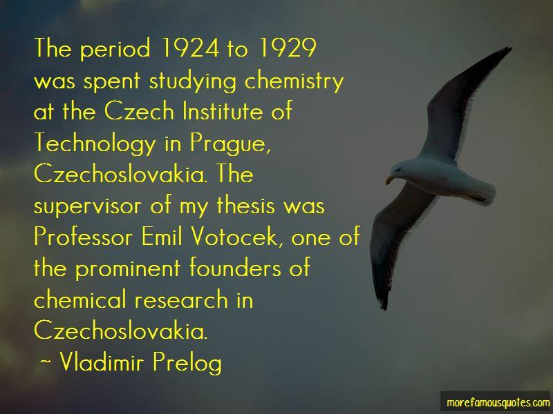 Vladimir Prelog Quotes Pictures 2