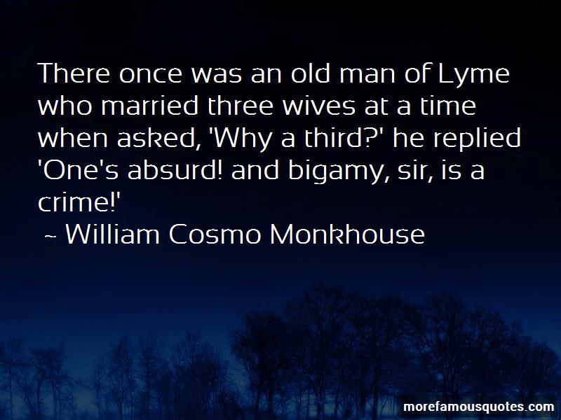William Cosmo Monkhouse Quotes