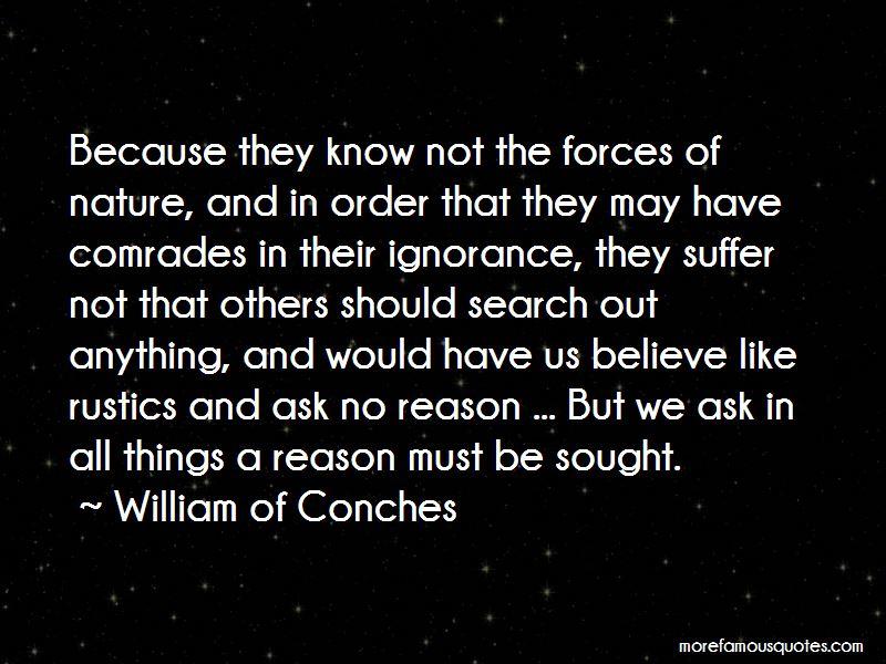 William Of Conches Quotes