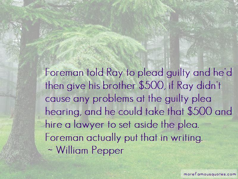 William Pepper Quotes