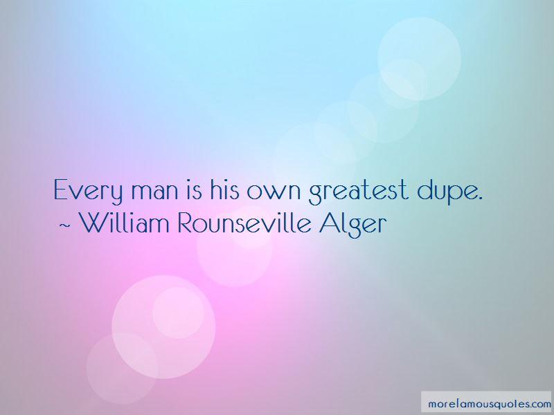 William Rounseville Alger Quotes